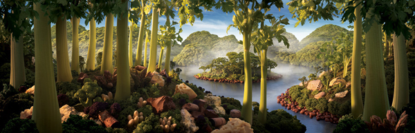 Foodscapes a.k.a Landscapes Made from Food by Carl Warner 8 Foodscapes a.k.a Landscapes Made from Food by Carl Warner