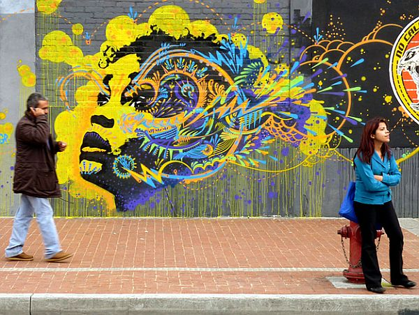 Mind Blowing Pieces of Street Art from Around the World 13 20 Mind Blowing Pieces of Street Art from Around the World