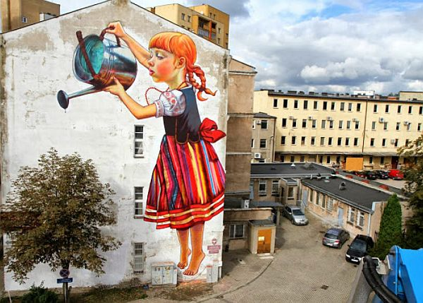 Mind Blowing Pieces of Street Art from Around the World 5 20 Mind Blowing Pieces of Street Art from Around the World