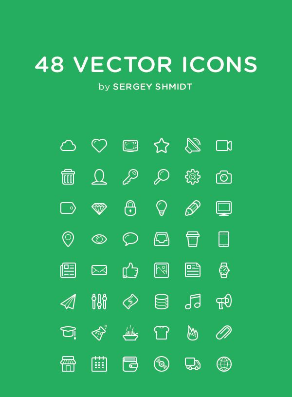 20 Flawless Detailed Icon Designs 4 20 Flawless & Detailed Icon Designs