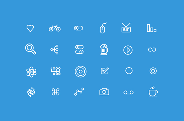 20 Flawless Detailed Icon Designs 5 20 Flawless & Detailed Icon Designs