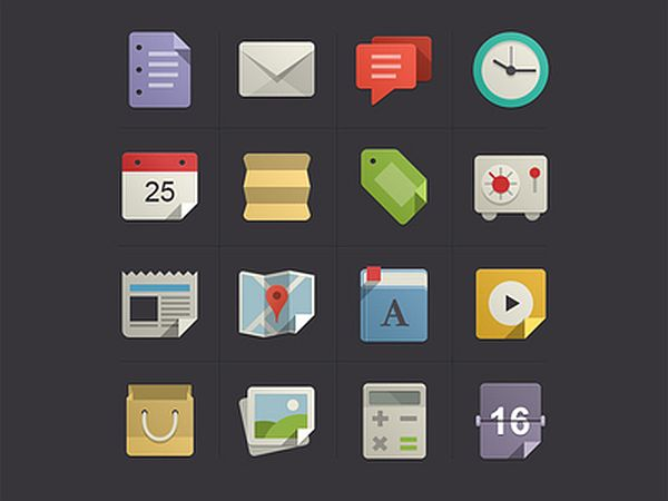 20 Flawless Detailed Icon Designs 6 20 Flawless & Detailed Icon Designs