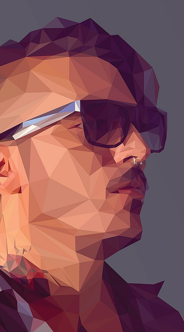 Artist of the Week Low Poly Portrait Tutorials by Breno Bitencourt 1 Artist of the Week: Low Poly Portrait Tutorials by Breno Bitencourt