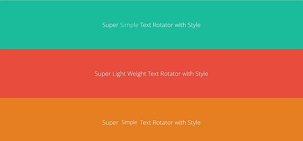 Simple text website