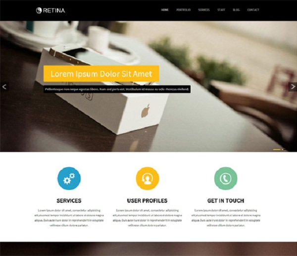 20 Free U0026 Premium Bootstrap Templates   Pixel77  Free Company Profiles Template