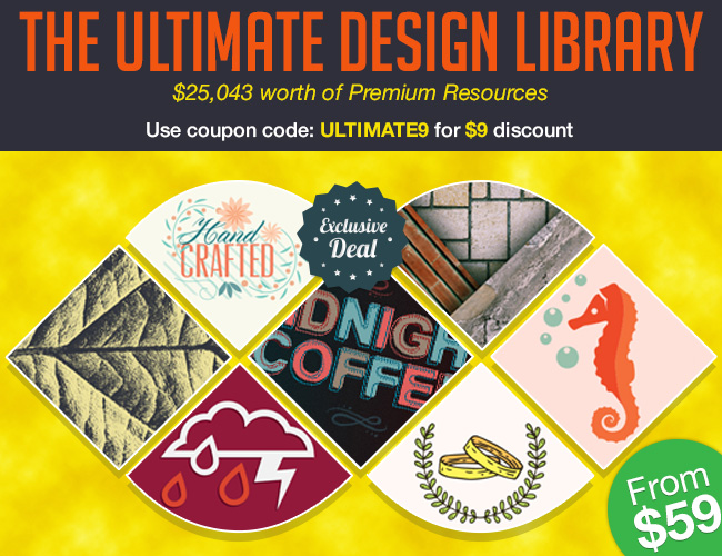 Inky Deals Coupon: The Ultimate Design Library: $25,088 worth of Premium RF Resources – From $59