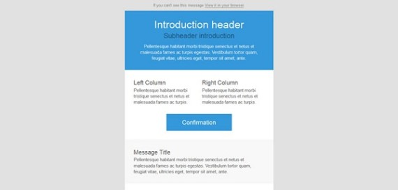 Free New Responsive Email Templates