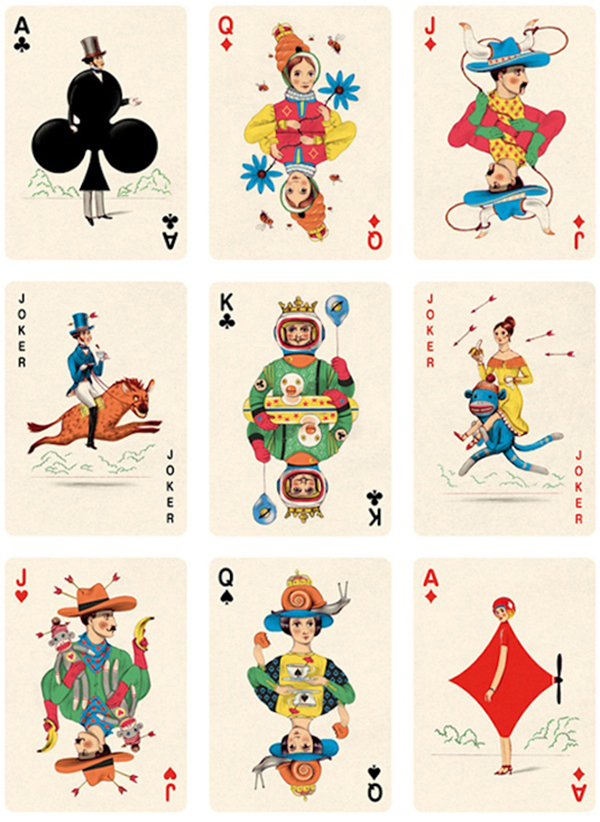 8 Most Creative Playing Cards Designs - Pixel77