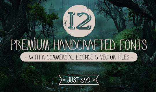 12-premium-handcrafted-fonts-mail