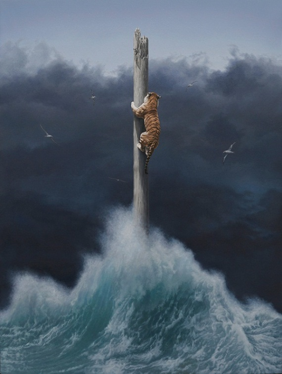 Amazing Surreal Oil Paintings By Joel Rea